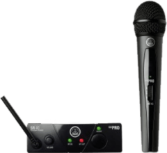 AKG WMS40Mini Vocal Set ISM2 Draadloze microfoonset Zendmethode: Radiografisch