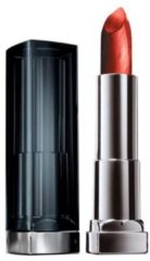 Bruine Maybelline Color Sensational Metallics - 20 Hot Lava - lipstick lippenstift Koraal Mat, Metalized