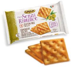 NUOVA IND. BISCOTTI CRICH SpA Crich Gusto Senza Rinunce Crackers Salati Senza Glutine 200g