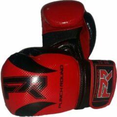 PunchR™ Punch Round Bokshandschoenen SLAM SDX Rood Zwart 14 OZ Bokshandschoenen