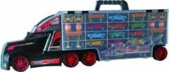 Wheellious Blue Vrachtwagen Met 11 Die-Casts
