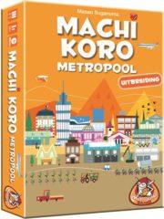 White Goblin Games White Goblin - Kaartspellen - Machi Koro: Metropool