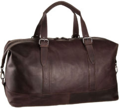 Bruine Leonhard Heyden Dakota Travel Bag brown Weekendtas