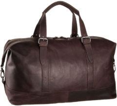 Bruine Leonhard Heyden Dakota Travel Bag brown Weekendtas