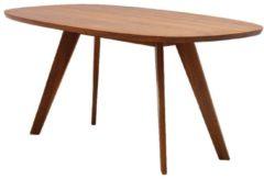ZEITRAUM Cena Tisch hyperelliptisch - amerik. Nussbaum massiv - 220 x 100 cm
