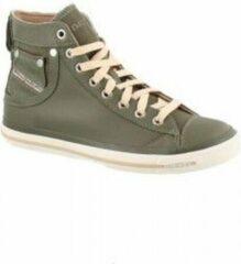 Groene Diesel exposure dames sneakers