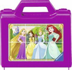 Ravensburger Blokkenpuzzel Princess - 6 stukjes - kinderpuzzel