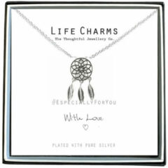 Life Charms Ketting met Giftbox Silver Dream Catcher