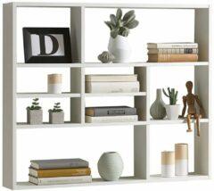 FD Furniture Wandrek Lussy 90 cm breed in wit