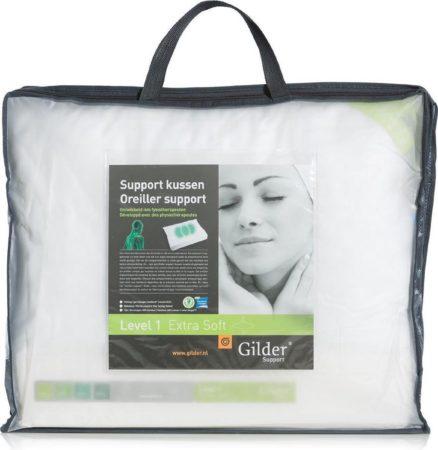 Afbeelding van Gilder Support Level 1 ExtraSoft Kussen - Wit 60x70