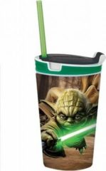 Snackeez Jr. - Yoda - Star Wars drinkbeker en lunchbox in 1 - Schoolbeker