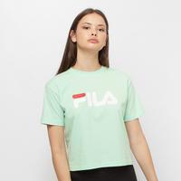 Groene T-shirt Korte Mouw Fila Viivika Cropped Tee Wn's