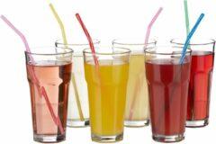 Relaxdays Waterglazen set 6 stuks, 300 ml, kristallen waterglazen, drinkglazen, glazenset
