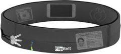 Flipbelt Zipper Donkergrijs - Running belt - Hardloopriem - M