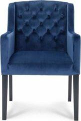 Happy Chairs - Armstoel Paco - Riviera Blauw