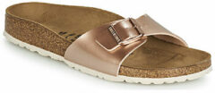 "Gouden Slippers Birkenstock Madrid BS ""Electric Metallic Copper"""