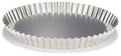 Zilveren Patisse vlaaibodem vertind 28cm