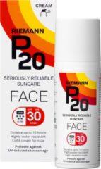 P20 - SPF 30 Face - 50 gram - Zonnebrandcrème - Lotion