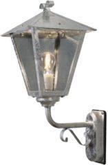 Konstsmide Benu Up 434-320 Buitenlamp (wand) Energielabel: Afhankelijk van de lamp Spaarlamp, LED E27 100 W Staal