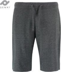 Donkergrijze Senvi - Slim Fit - Korte Broek - Kleur Donker Grijs - Maat XS