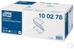 TORK 100278 Zickzack Premium Papieren handdoeken (l x b) 23 cm x 22.6 cm Helderwit 15 x 200 vellen/pak 3000 stuk(s)