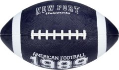 Marineblauwe New Port American Football - Medium - Marine/Wit