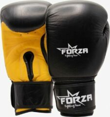 Gele Forza Fighting Gear FORZA LEREN BOKSHANDSCHOENEN - WASP
