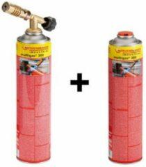 Rothenberger Gasbrander + 2x Multigas 300