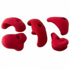 Metolius - Mini Jug 5 Pack All American B - Klimgrepen maat 5 Holds, rood/roze