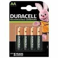 Klusgereedschapshop Duracell Batterij duracell penlite oplaadbaar aa blister van 4 batterijen