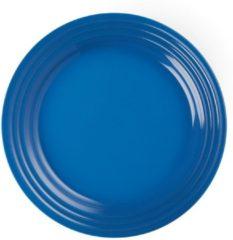 Blauwe LE CREUSET - Aardewerk - Ontbijtbord 22cm Marseille