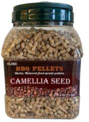 Qube BBQ pellets Camellia Seed 2kg
