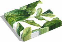 Dutch Design Brand - Dutch Design Napkins - servetten - Groene bladeren - groen Leaves