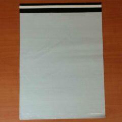 Licht-grijze Merkloos / Sans marque 100 Coex verzendzakken 380 x 480 + 50 mm 60 micron