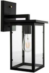 Groenovatie Otto Industrieel Design Wandlamp E27 Fitting - 400x150x280 mm - Zwart