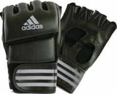 Adidas Grappling Training Handschoenen Zwart/Zilver Medium