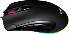 Zwarte Patriot Memory Viper 551 muis Optisch 12000 DPI Rechtshandig