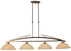 Masterlight Eetkamer hanglamp Bolzano Masterlight 2939-21-34