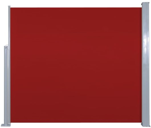 Afbeelding van VidaXL Zijluifel uittrekbaar 120x300 cm rood