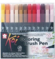 Royal Talens Sakura Koi Coloring Brush Pens - 24 kleuren