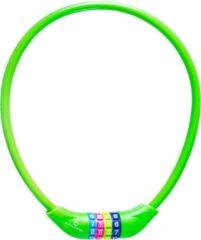 #DoYourFitness #DoYourOutdoor - Fietsslot - »Protector« - Kettingslot - L 70 cm, Ø 25 cm, dikte ca. 3/4 mm - groen