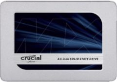 Crucial CT500MX500SSD1 SSD harde schijf (2.5 inch) 500 GB MX500 Retail SATA 6 Gb/s