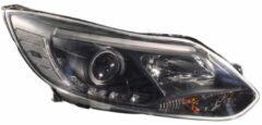 Universeel Set Koplampen DRL-Look Ford Focus III 2011- - Zwart - incl. Motor