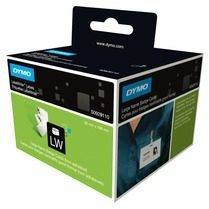 DYMO Large Name Badge Cards 250stuk(s) Zwart, Wit niet-klevende labels
