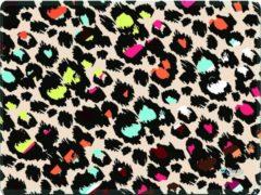 Beige Muismat gekleurde panterprint - Sleevy