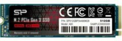 Silicon Power P34A80 internal solid state drive M.2 512 GB PCI Express 3.0 SLC NVMe