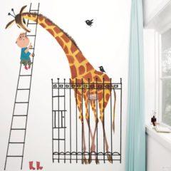 Witte KEK Amsterdam fotobehang Fiep Westendorp giraffe (243,5x280 cm)