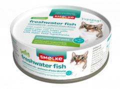 Smolke Vers Gestoomd 80 g - Kattenvoer - Vis