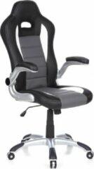 Gele Hjh office - Game Racer Sport - Bureaustoel - zwart/grijs