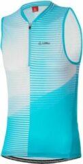 Löffler Fietstop Hz Aero Dames Polyester Blauw Maat 38